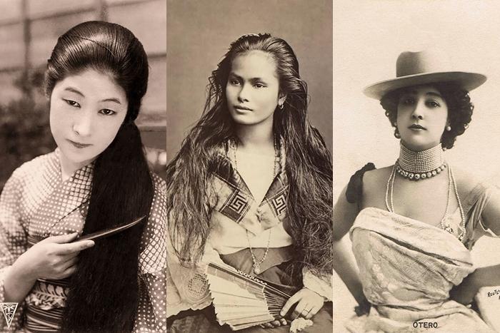 16 Foto jadul ini tunjukkan standar kecantikan wanita 100 tahun lalu