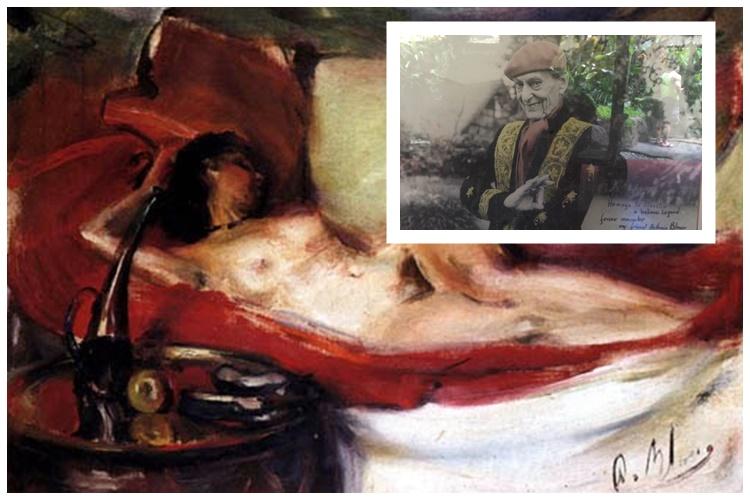 Pelukis ini jadikan istrinya model lukisan erotis, di sini lukisannya!