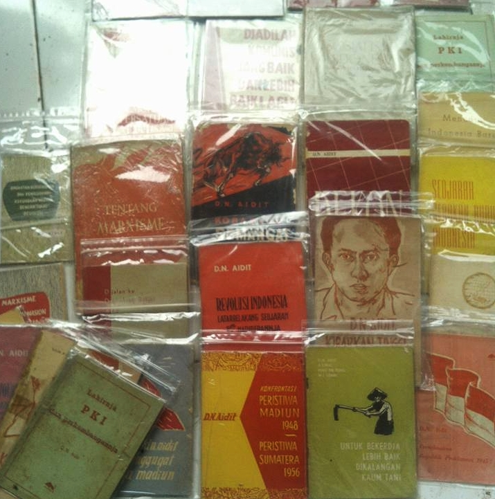 Buku-buku pemimpin PKI DN Aidit dibanderol Rp 33 juta, wow!