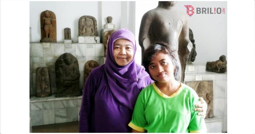 Kasih jempol pada Sukarni, wanita ini gigih mendidik anak-anak autis