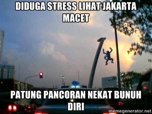 20 Meme patung Pancoran yang bikin kamu ketawa ngakak