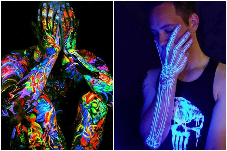 20 Desain tato glow in the dark ini dijamin bikin kamu melongo
