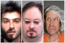 17 Pose foto konyol narapidana, antara lucu dan miris!