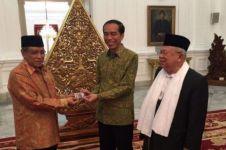 Datangi Istana, NU 'lantik' Jokowi & minta pemerintah tegas soal LGBT