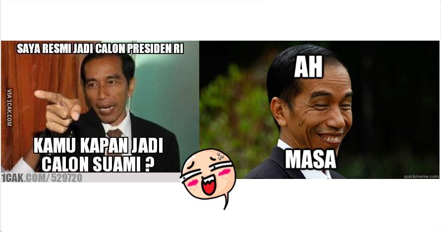 Meme Presiden Jokowi Ini Bakal Bikin Kamu Ketawa Lepas Kocak Nih