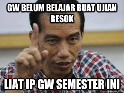 Meme Presiden Jokowi  Brilio Net
