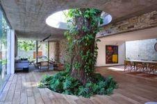 14 Inspirasi keren jika pembangunan gedung terhalang pohon, top!