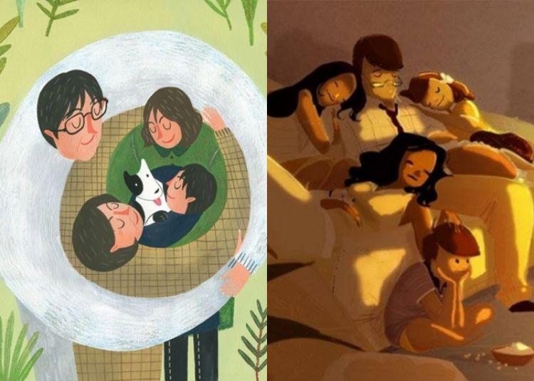 14 Ilustrasi bukti momen keluarga tidak bisa diganti dengan apapun!