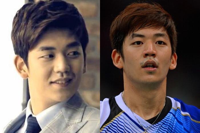 Selain Lee Yong Dae, ini 10 atlet Korea yang sering disangka artis!