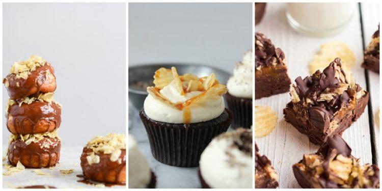 17 Menu kombinasi cokelat dan keripik kentang ini bisa jadi inspirasi