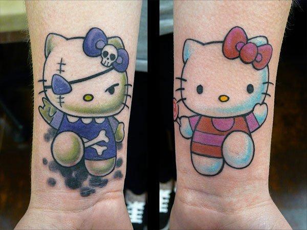 15 Tato Hello Kitty, unyu & bikin pemiliknya gagal sangar