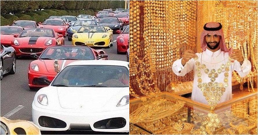 22 Foto ini buktikan kalau orang Dubai kebanyakan duit, super mewah!
