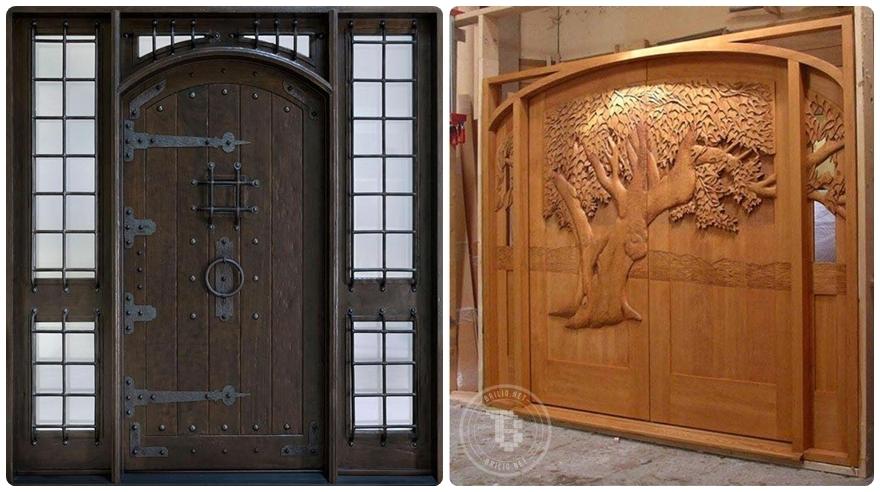 20 Desain pintu unik nan elegan ini dijamin bikin rumahmu makin wah