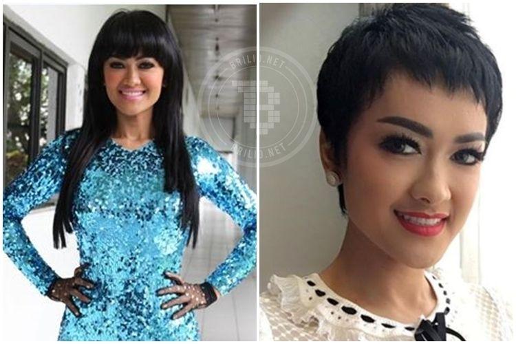 Model Rambut Ini Pernah Dicoba Julia Perez Cantik Yang Mana - Gaya rambut pendek jupe