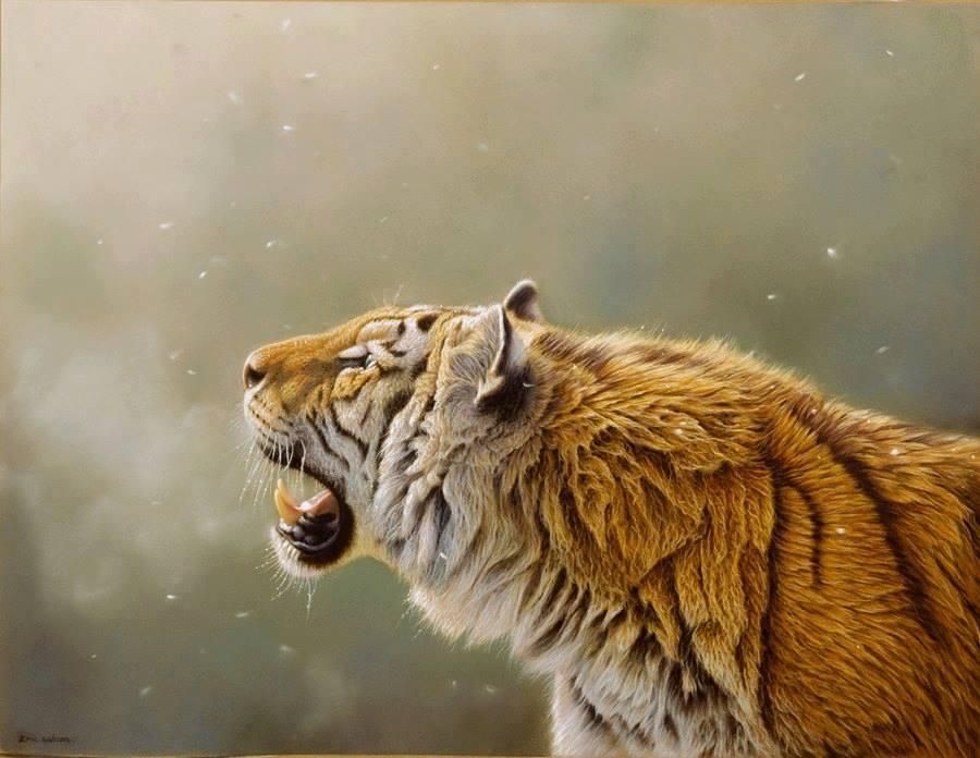 Lihat Dengan Jeli 13 Gambar Raja Hutan Ini Foto Asli Atau Lukisa