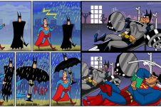 25 Komik Batman v Superman ini bakal bikin kamu ketawa, kocak abis!