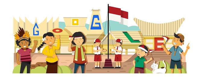 17 Logo Google Versi Indonesia Yang Bikin Kamu Makin Cinta Tanah