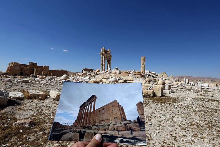 foto Suriah dulu dan kini © 2016 brilio.net