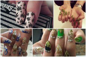 Ladies, 20 gaya Weed Nail  cantik & glamour ini  bikin kamu makin hits