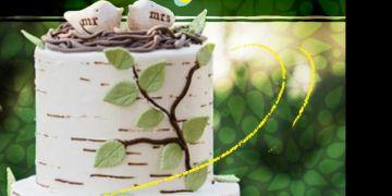 18 Wedding cake ini unik banget, bikin ingin cepet ke pelaminan..
