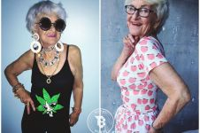 Baddie Winkle, nenek 88 tahun penampilannya bikin melongo gaul abis!