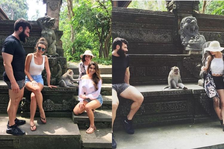 Si Raja Instagram Dan Bilzerian piknik ke Bali, jomblo dilarang iri!