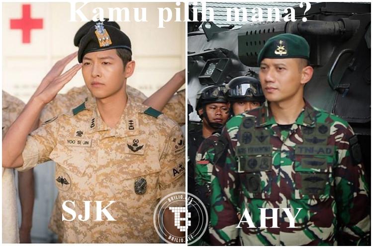 12 Meme Agus Yudhoyono vs Song Joong Ki ini dijamin bikin cewek baper!