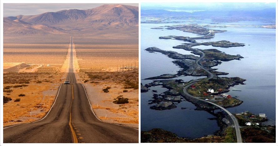 18 Jalan raya ini sajikan panorama alam eksotis, awas melongo!