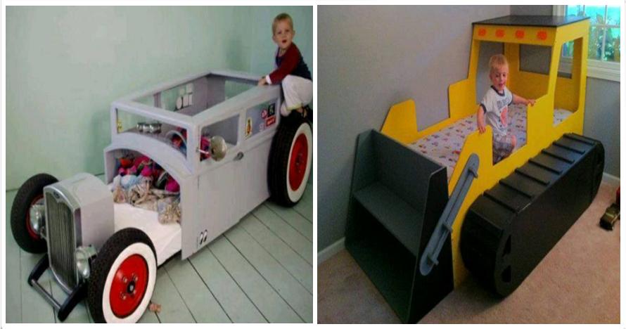 18 Ide model tempat tidur anak keren, anak-anak dijamin nyenyak...