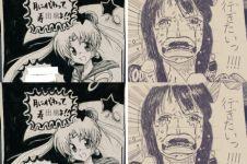 10 Undangan pernikahan orang Jepang yang 'disulap' anime, keren abis!