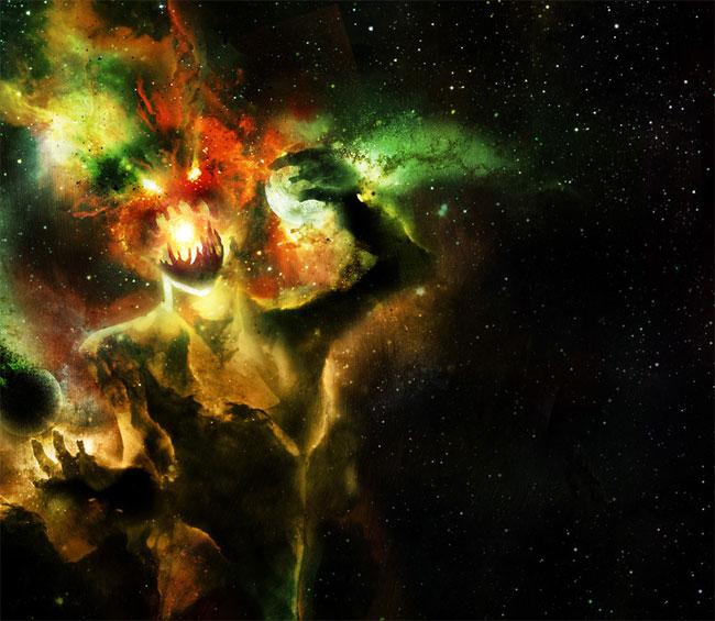 Ilustrasi menakjubkan dari penampakan black hole ini bikin merinding