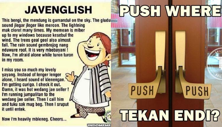 terjemahan inggris jawa bikin ngakak sampai lupa rasanya patah