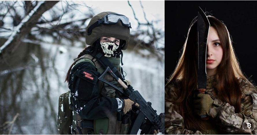 15 Foto menantang Elena, tentara yang disebut-sebut tercantik di dunia