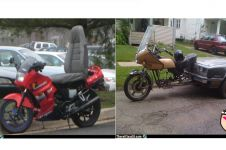 16 Modifikasi sepeda motor ini gagal total, nomor 11 paling ngakak!