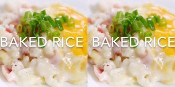Ini resep sedap nikmat baked rice ala cafe, bikin sendiri di rumah ya!