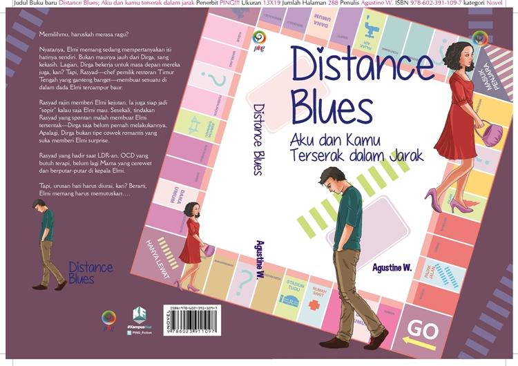 Distance Blues, novel cocok buat kamu yang LDR, bikin baper abis!