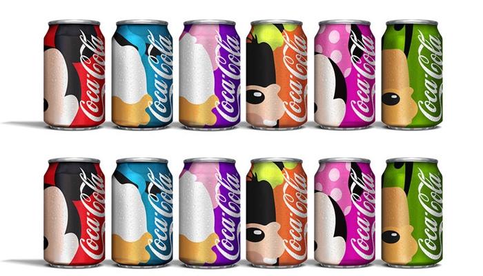 6 Karakter kartun Disney di kaleng Coca Cola, bikin kamu haus terus!