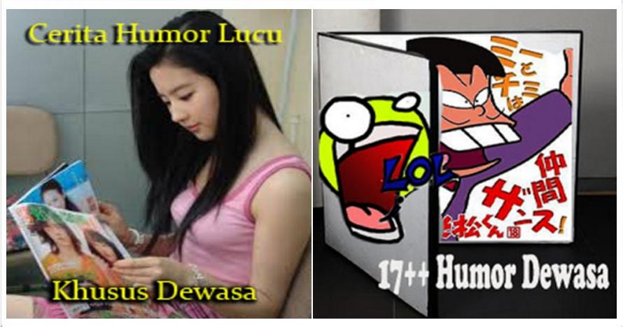 10 Humor dewasa khas orang Indonesia, saru tapi lucu!