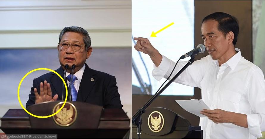 15 Foto gaya bicara presiden Jokowi dan SBY, lihat bedanya?