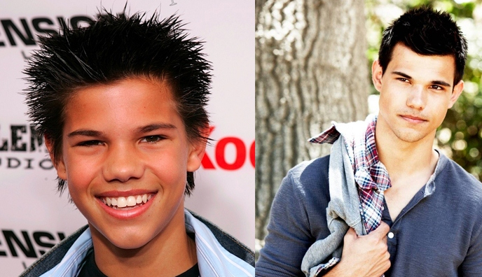 Evolusi Taylor Lautner dari kurus kerempeng jadi serigala ganteng