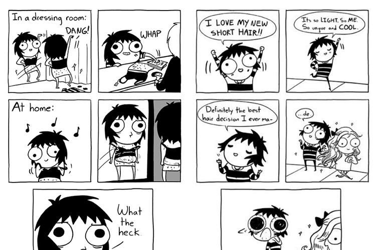 15 Komik strip ini tunjukkan susahnya menjadi wanita dewasa, setuju?