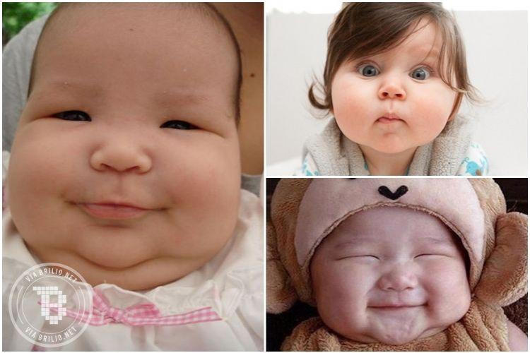 15 Foto bayi montok ini bikin pengen cubit, sumpah gemes banget!