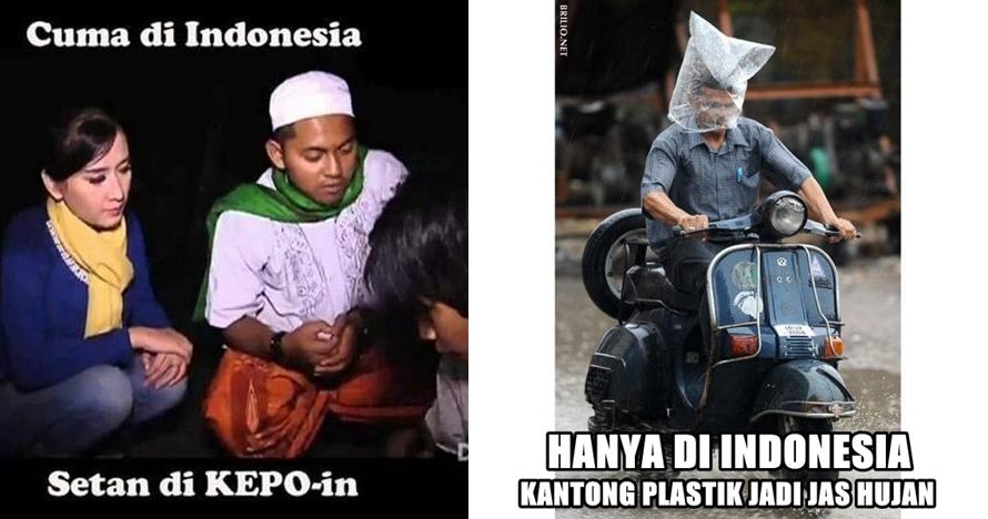 17 Meme 'Hanya Ada di Indonesia' ini dijamin bikin kamu tertawa lepas!