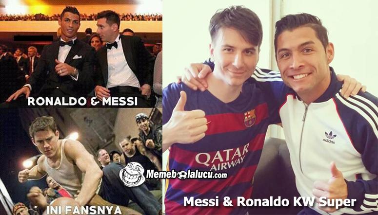 Meme Kocaknya Persaingan Antara Cr Messi Bikin Kamu Geregetan