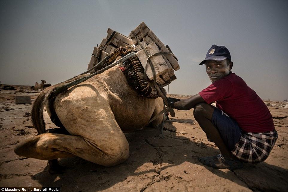 10 Potret perjuangan petani garam Ethiopia, bikin mata berkaca-kaca!