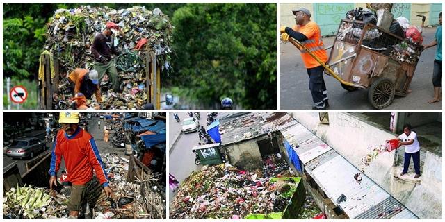Gaji tak seberapa, 10 foto ini tunjukkan besarnya dedikasi Pak Sampah!