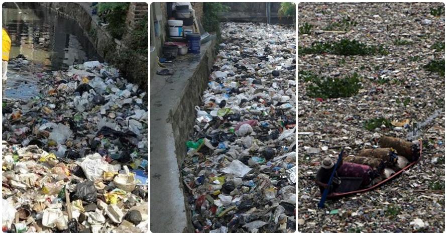 Jorok banget, ngelihat 9 sungai di Indonesia bikin perut mual!