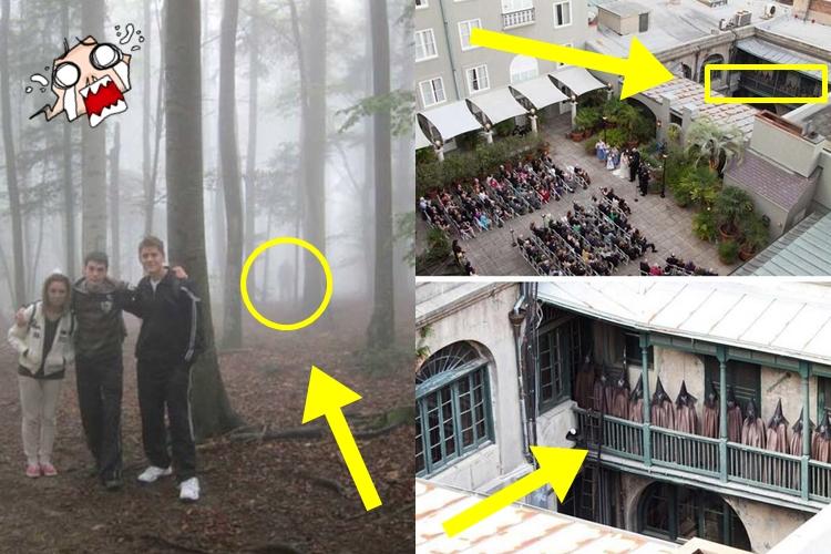 16 Penampakan serem yang nggak sengaja tertangkap kamera, kamu lihat?