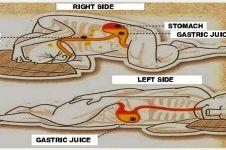 Ini efek bagi kesehatanmu jika suka tidur miring ke kiri atau ke kanan