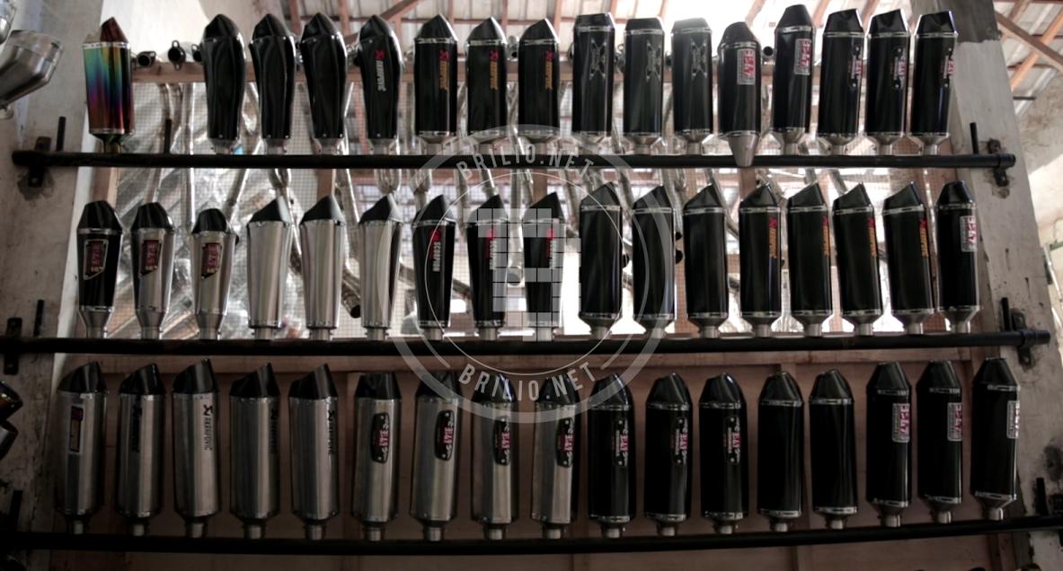 Purbalingga, 'pabrik raksasa' produsen knalpot yang legendaris